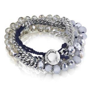 Chloe + Isabel Jewelry - Bead + Ribbon Multi-Wrap Bracelet